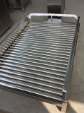 Stainless Steel Rolling Security Desk, Checkpoint Desk
