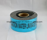 "Aluminium Foil Warning Tape with Blue Color 3"" Width"