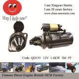 Beinei 492Q,BJ212 NJ136 Diesel Engine Starter (QD135)