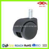 Black Nylon Twin Wheel Furniture Caster (C503-20B050X50D)