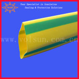 Yellow Green Heat Shrinkable Identification Cable Sleeve