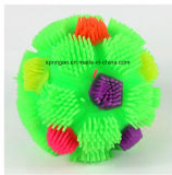 Kids Plastic Toy with Flash Rainbow Ball