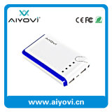 Stylish 6600mAh Travel Charger Power Bank - Mobile Phone Accessory