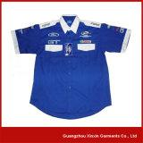 Custom Design Staff Shirts Uniform for 4s Gas Shop (S34)
