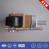 Swivel Locking Black Plastic Industrial Castor