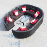 Circular Outdoor Sofa Garden Sofa Wicker Furniture Rattan Sofa Outdoor Furniture S215