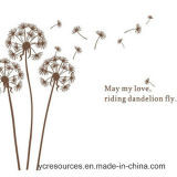 PVC Wall Sticker-May My Love, Riding Dandelion Fly