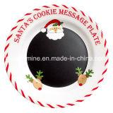 Christmas Santa Melamine Dinner Plate (PT164)