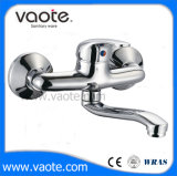 Brass Body Single Hande Sink Wall Mounted Mixer Faucet (VT10302)