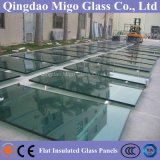 Rectangle Clear Tempered Insulated Glass for Commercial Building