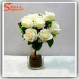 Wholesale Artificial Flower Wedding Bouquet Rose Flower