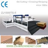 ZJ1500TS-II Automatic Platen Die Cutter Machine Tool, Making Carton Box Paper Sheet