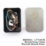 Hearth Stone Chain Warcraft Hearth Stone 3.0*1.7cm HK8364A/HK8364s