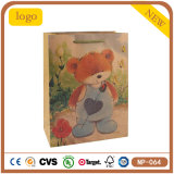 Bear Lovely Glove Sweater Wedding Woollen Kraft Paper Bag