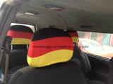 Soccer Fan Football Fan Flag Car Headrest Cover