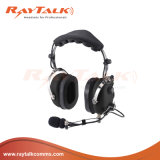 Noise Cancelling Headphones with Metal Boom Microphone