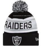 Factory Produce Customized Logo Jacquard POM POM Slouchy Beanie Hat