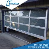 Aluminum Tempered Glass / PC Sheet / Mirrored Garage Door