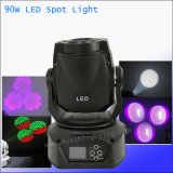 Stage Effect 90W Spot LED Moving Head for Disco DJ Gobo Light