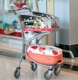 Duty Free Shop Shopping Trolley in Airport