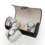 Luxury Case Roll 3 Slot Wristwatch PU Leather Box Storage Travel Pouch