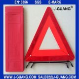 Fixable Safety Sign Reflective Night Visual Car Attention Warning Triangle (JG-A-03)