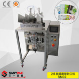 China Factory Double Heads Face Mask Filling Sealing Packing Machine