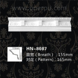 PU Decorative Dentil Cornice Mouldings for Home Decoration Hn-8087