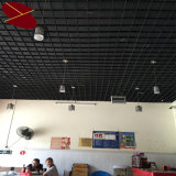 Aluminum Open Cell Ceiling Systems of Restaurant Ceiling Decoration