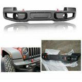 Steel Rubicon 10th Anniversary Front Bumper for Jeep Wrangler Jk