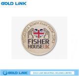 Promotion Metal Crafts Organization Club Challenge Coin Souvenir
