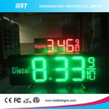 Outdoor Weatherproof & UV Protected LED Gas Price Display