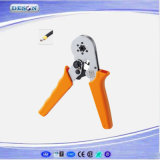 Mini Self-Adjustable Hand Crimping Plier for Cable End-Sleeves