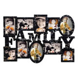 Plastic Multi Openning Home Decoration Graft Picture Family Photo Frame