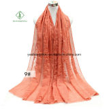 Tie-Dyed Retro Embroidery Rattan Shawl Lady Fashion Scarf