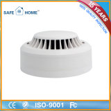 Wired Photoelectronic Heat and Smoke Detector for Home Security Systems