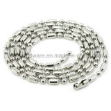Stainless Steel Bead Chain Necklcae