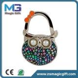 High Quality Wholesales Owl Promotional Metal Bag Hanger