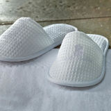 Unisex Non-Skid Disposable Waffle Hotel Slippers