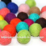 Wool Polyester Felt Ball Colorful of Different Colors