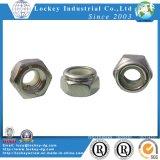 Ss304 Hex. Nylon Insert Lock Nut Nylock Nut DIN985
