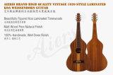 Aiersi Brand Laminated Koa Weissenborn Guitar