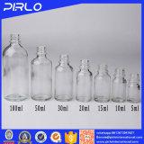 Clear Essential Oil Glass Bottles for Cosmetic 5ml, 10ml, 15ml, 20ml, 30ml, 50ml, 100ml