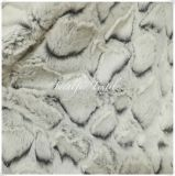 100% Polyester Soft PV Plush Fur with Discharge