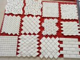 Statuary/Oriental/Snow/Carrara White Marble Mosaic Tiles Polished/Honed Hexagon/Basketweave/Herringbone/French Pattern for Wall/Flooring