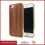 New Wooden Grain Style TPU Mobile Phone Case Ultra Thin TPU Electroplating Mobile Phone Case for iPhone 7 / 7 Plus