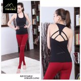 Absorbent Cotton Vest Women′s Sports and Fitness Yoga Vest