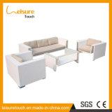 New design European Patio Garden Rattan Furniture Aluminum Chair Leisure Sofa Set