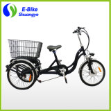 3 Wheels Cargo Foldable Electric Tricycle