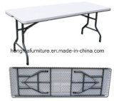 10 People 8FT Folding Straight Dining Table, Banquet Table